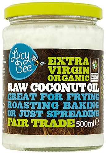 Lucy Bee Extra Virgin Raw Organic Coconut Oil 500ml ** Amazing product just a click away : at Cooking oil.