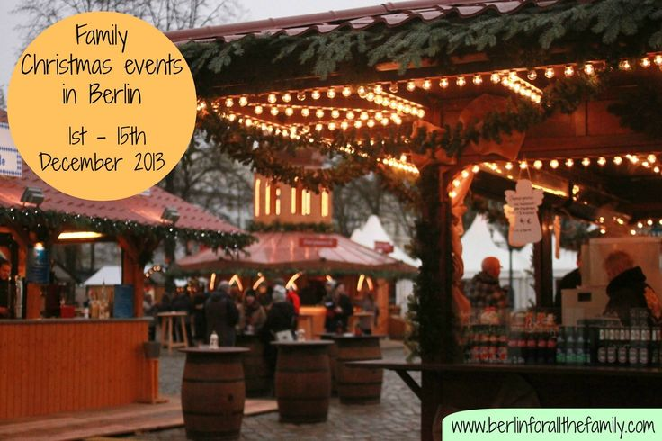 What's on for families over the Christmas period in Berlin 2013