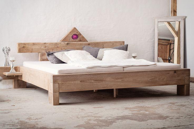 die besten 17 ideen zu altholz betten auf pinterest altholz kopfteil rustikales bett und. Black Bedroom Furniture Sets. Home Design Ideas