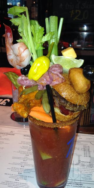 Outrageous Bloody Mary! TODD ENGLISH PUB - LAS VEGAS