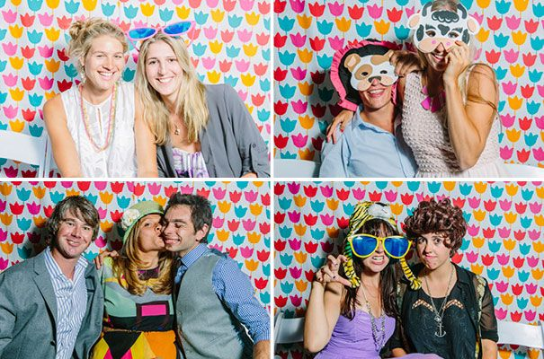 We MUST have a fun DIY photobooth space like this! Must must must!