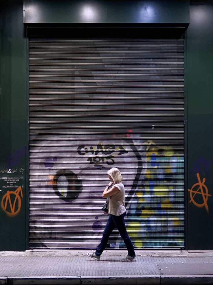 Κυρία και αστική τέχνη. Τσιμισκή. (Μάιος 2017)