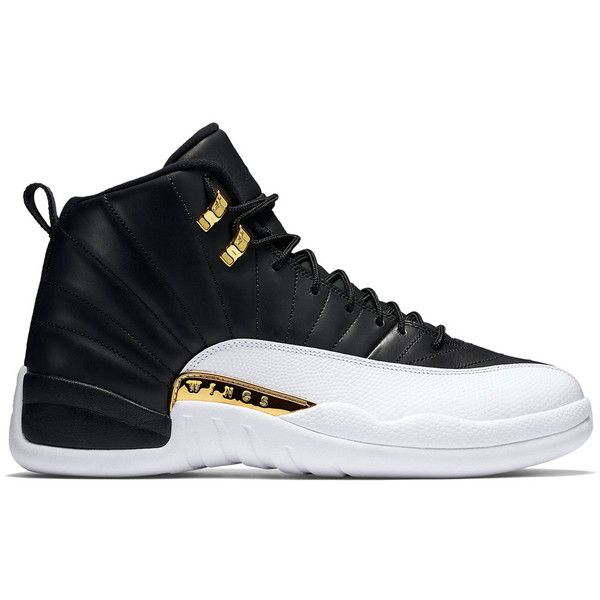 """Air Jordan 12 Retro """"Wings"""" ❤ liked on Polyvore featuring shoes, jordans and sneakers"""