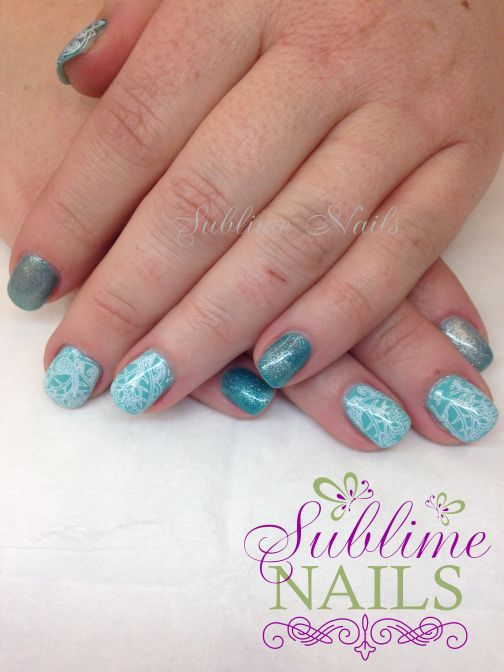 Gel Nails by Sublime Nails~ www.sublimenails.ca #GelNails #NailArt