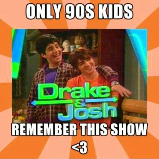 ☺Drake And Josh ☺ #90's Kid # TV Show #Remember This? (I know its not from the 90's,but its still part of my childhood)