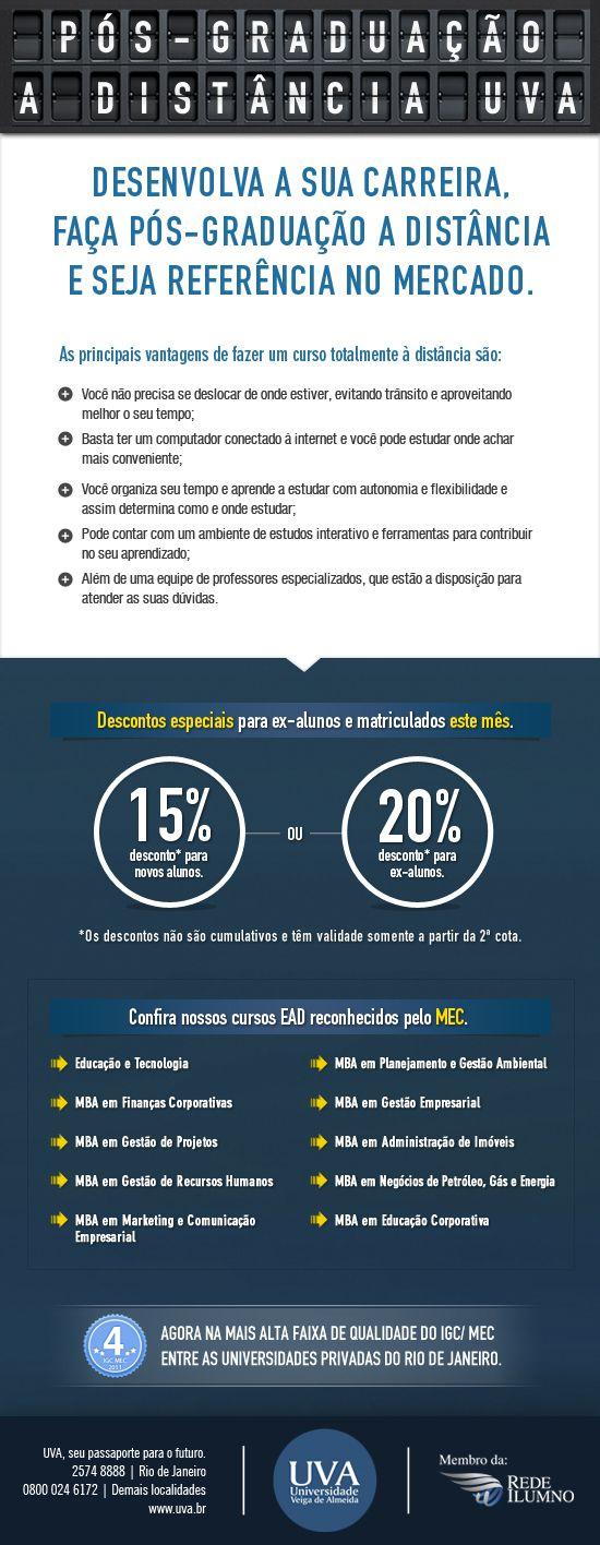 Campanha de Pós-graduação 2013.1.  Universaidade Veiga de Almeida.