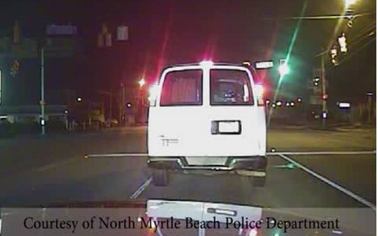 North Myrtle Beach police release dashcam of chase, crash involving DUI suspect #DUI #DUIarrest #News