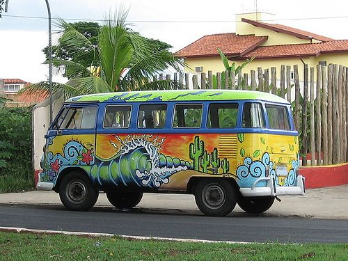 Kombi 70's - II by Alexandre Jorge, via Flickr