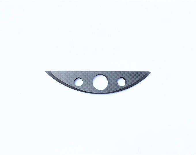 TABAC coupe couteau 100 % fibre de carbone couteau brillant fini pleine fibre de carbone lame et le manche grand luxe cadeau Objet