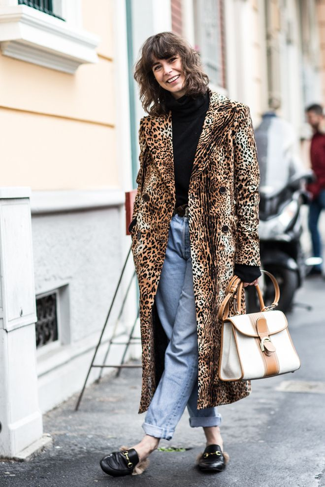 Street look à la Fashion Week automne-hiver 2016-2017  Photo par Sandra Semburg