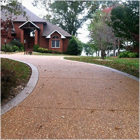 Aggregate Concrete Driveway Sealer | Wet Look | Pebble Pea Gravel