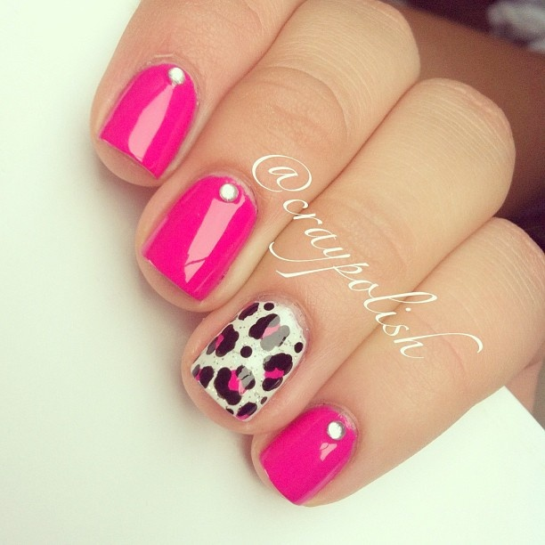 Pink && Bling ✧ @craypolish
