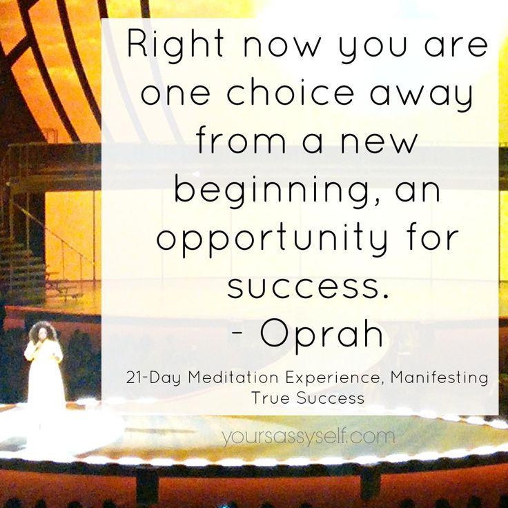 Week 2 – Manifesting True Success (21-Day Meditation Experience™) - YourSassySelf.com