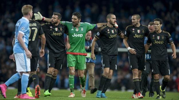 (Galeri) Juventus Susah Payah Bekuk Manchester City