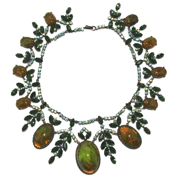 French couture necklace