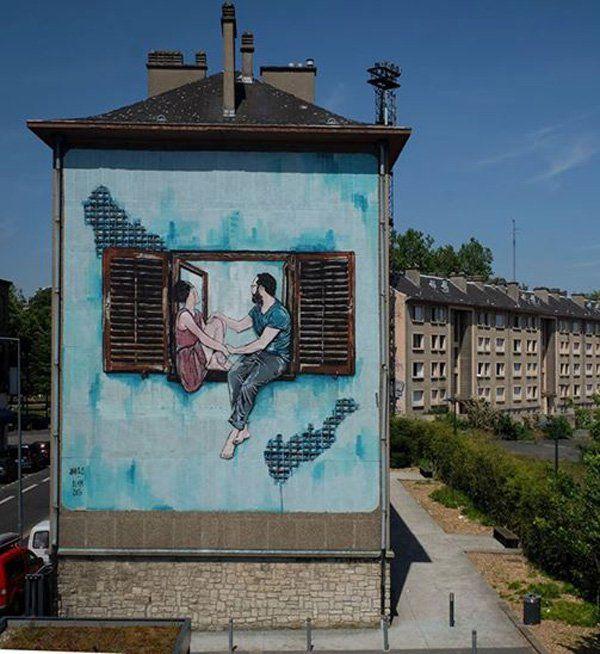 Lille, France, 2015-jana & js - Street Art by jana & js