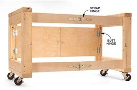 29 Best Woodshop Rolling Cart Images On Pinterest Tools