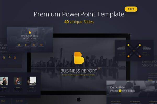 Creating A Business Report Pro Presentation Has Never Been Easier Especially If You Are Using Business Report Pro Fr Powerpoint Templates Powerpoint Templates