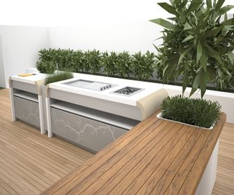 Jamie Durie designs Outdoor Kitchen for Electrolux - DesignCurial