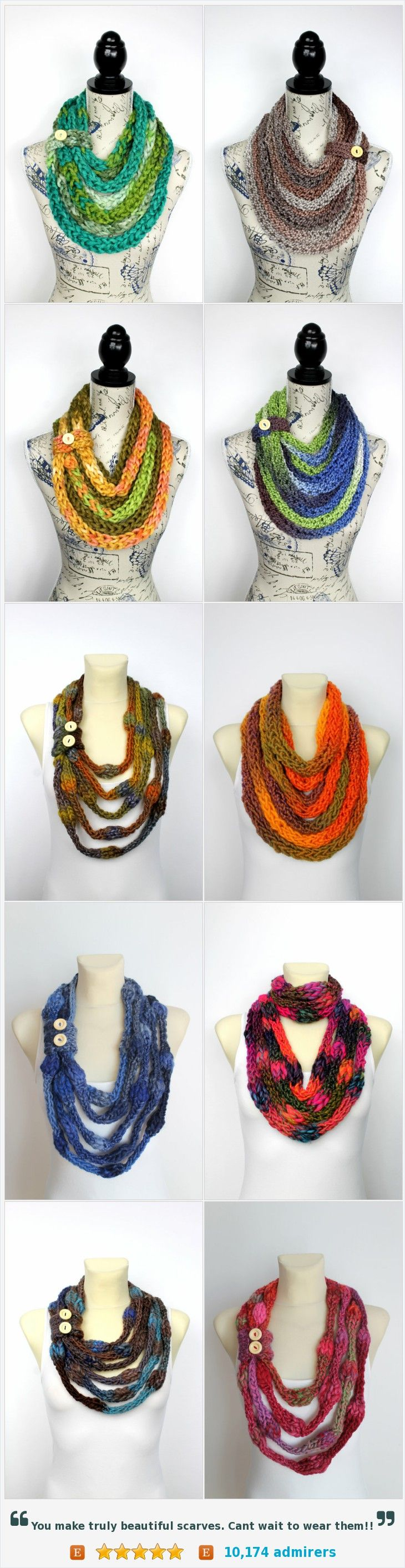 Unique Handmade Scarves  by @locotrends #etsy https://www.etsy.com/shop/LocoTrends?ref=profile_shopicon&section_id=18797859