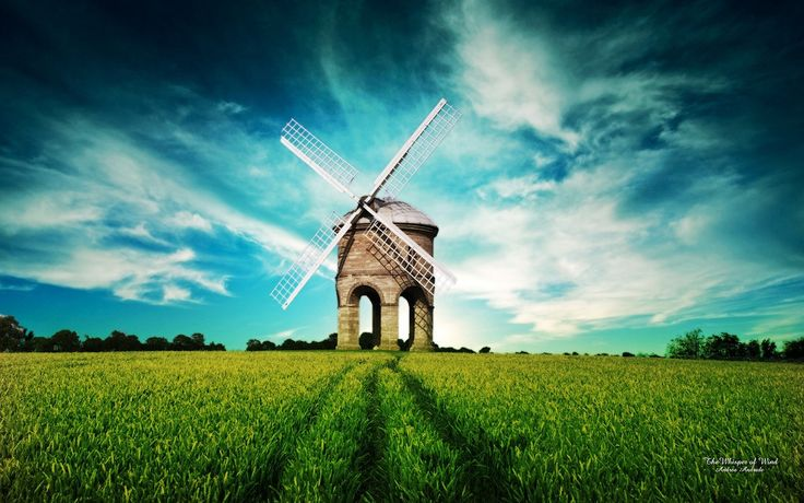 Lovely wind mill.