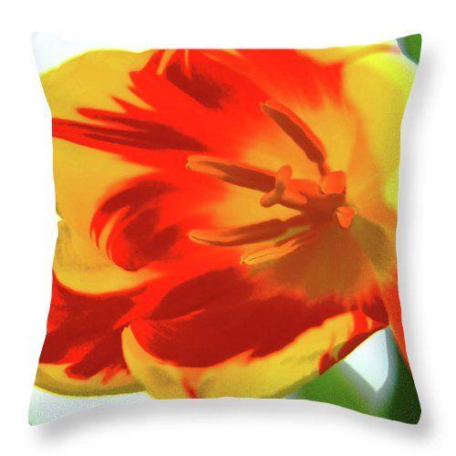 Spring colors by Mary Raven #MaryRaven #macro #tulip #yellow-redflower #tulips #brightflowers #floral #botanical #natural #graphicdesign #ArtForHome #FainArtPrints #Photographers #FineArtAmerica #FineArtPrints #ForSale #ArtHome #Artdecor #Decor #Homedecor