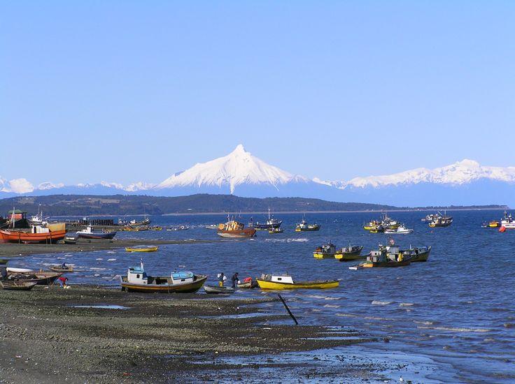 Quellon, sur de Chile