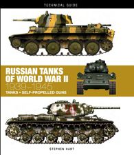 RUSSIAN TANKS OF WORLD WAR II: Technical Guide by Stephen Hart | Amber Books Ltd, 128pp. A detailed guide to the tanks used by the Red Army to defeat Hitler in World War II.