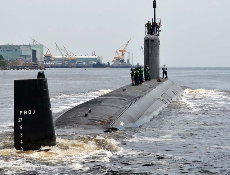 The Virginia class of attack submarines is part of the U.S. Navy's replacement for the older Los Angeles-class fleet. They include new and improved photonic sensors and improved sonar functionality.