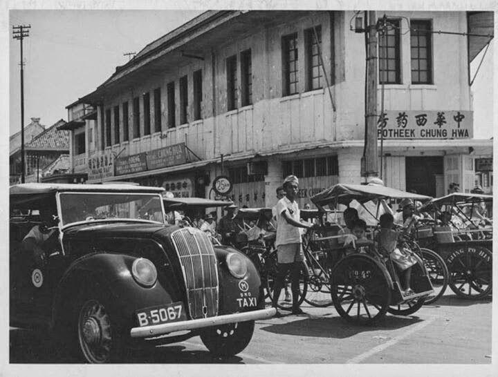 old-indische: Glodok, Jakarta