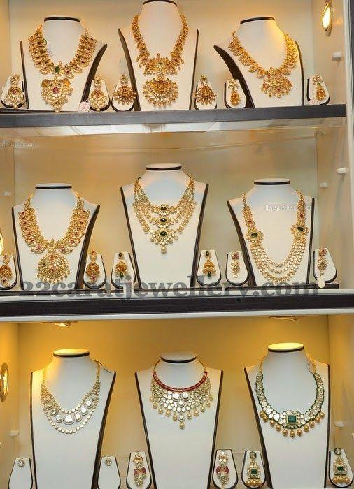 Jewellery Designs: Pachi Kundan Jewelry Collection