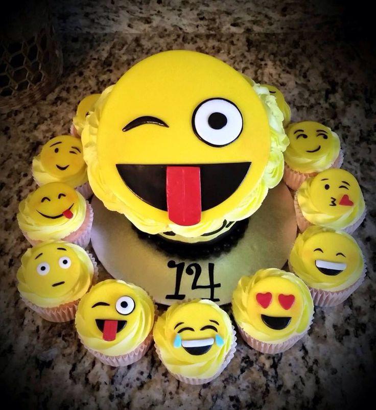 Cake Designs Emoji : Emojis Cake Busy B s Cakes & Cupcakes Pinterest ...