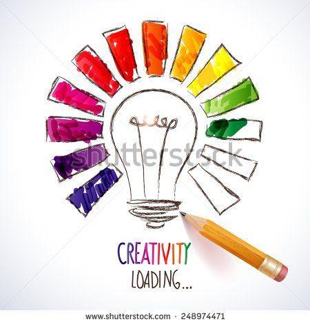 Design of progress bar, loading creativity - stock vector
