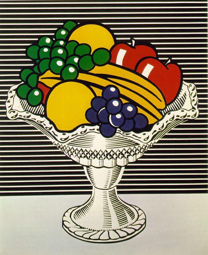 Roy Lichtenstein: Still Life with Crystal Bowl, 1973