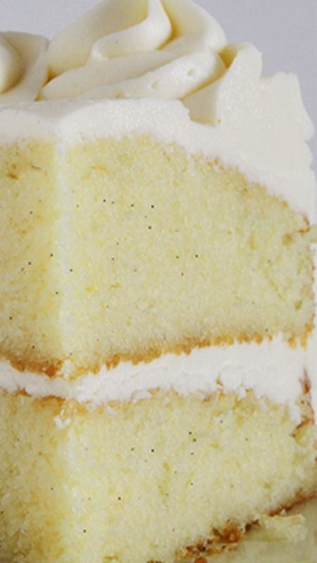Ultimate Vanilla Cake Recipe ~ It is amazing!