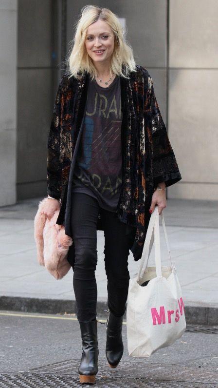 Stella boots, vintage kimono jacket and Duran Duran T                                                                                                                                                                                 More