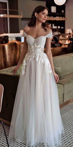 Off The Shoulder Wedding Dresses To See ★ See more: www.weddingforwar… af790d3d57f6b6ad78e74da645b35d21