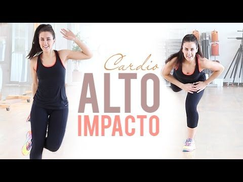 Cardio con saltos alto impacto | 20 minutos intensos para adelgazar