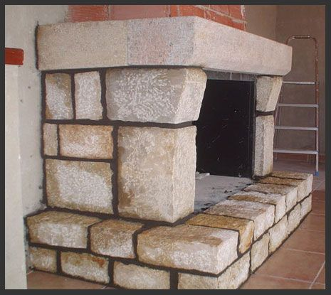 15 mejores im genes sobre stone en pinterest ideas de - Piedras para chimeneas ...