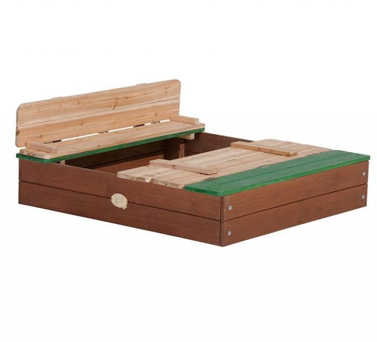 Axi houten zandbak Ella