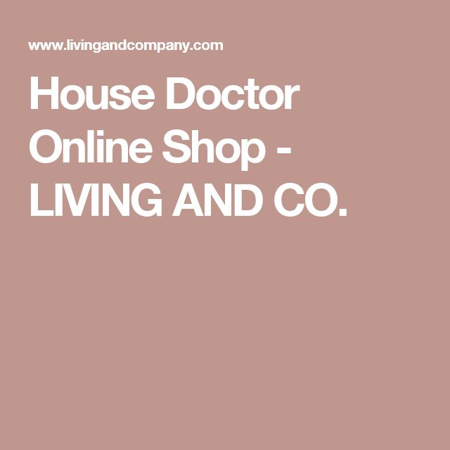 House Doctor Online Shop - LIVING AND CO.