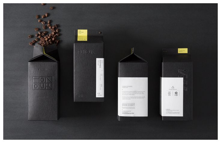 The Dieline Awards 2017 Outstanding Achievements: HONOUR Essentials Coffee — The Dieline   Packaging & Branding Design & Innovation News
