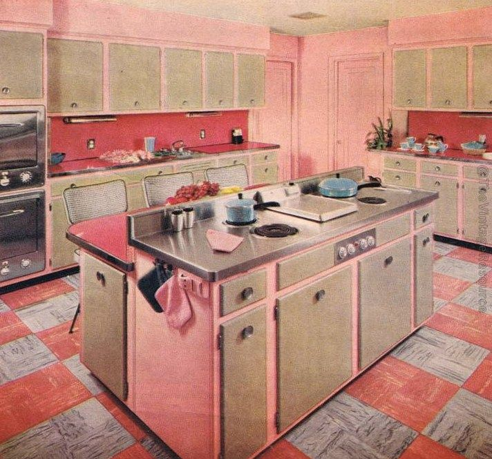 Best 204 Best Images About Mid Century Modern Kitchens On 400 x 300