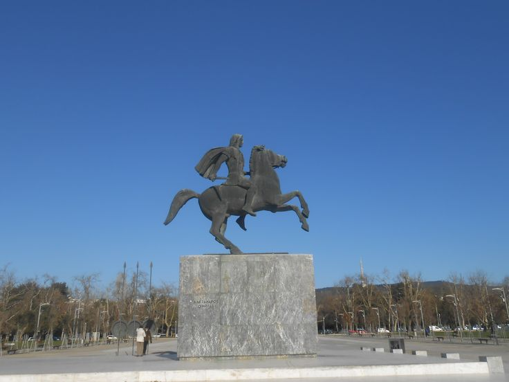 Alexander the Great - Thessaloniki-Macedonia-Greece