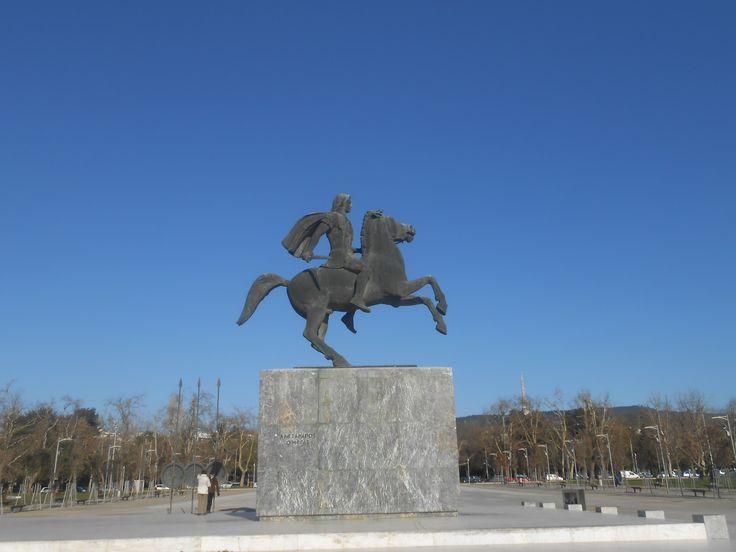 Alexander the Great - Thessaloniki-Macedonia-Greece