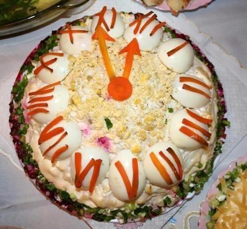 Κουζινοπαγίδα της Bana Barbi: Σαλάτα ρολόι