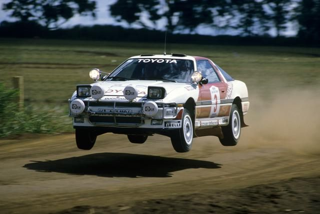 '87 Toyota Supra Safari Rally