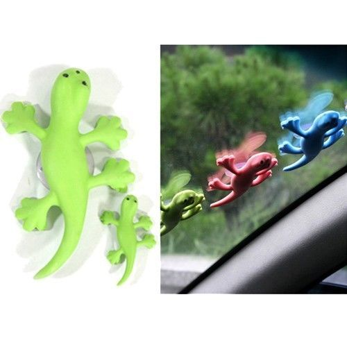Car Auto Air Freshener Gecko Accessories Apple Scent Perfume Home Room Fragrance