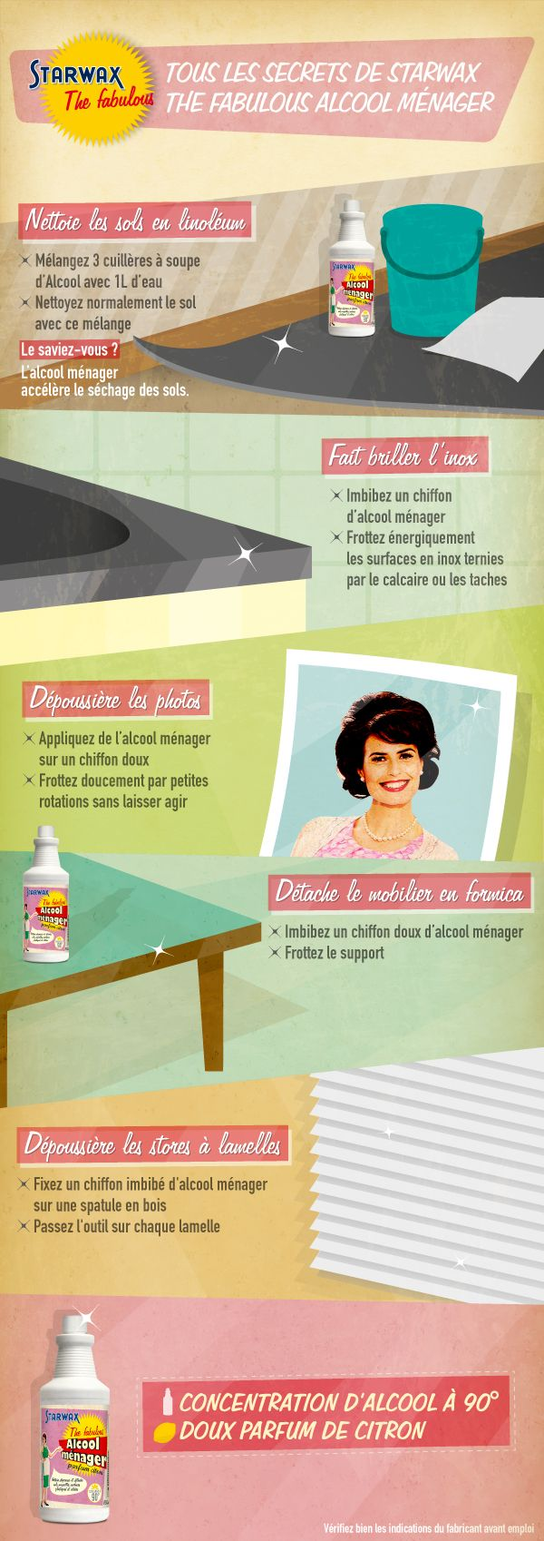 ♥ Pinterest : Mutine Lolita ♥ Les secrets de l'alcool ménager #astucieux
