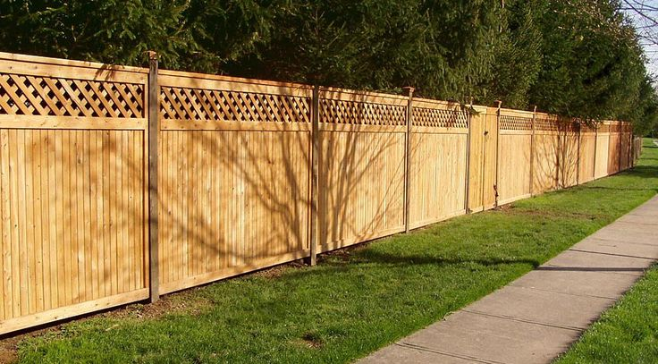 Add Lattice To Extend Height Of Privacy Fence Gardening